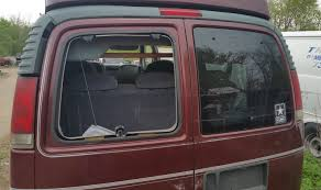 Replace STATIONARY WINDOWS To POP OUT In A Van For Ventilation Part 2 Of 3 Campervan RV