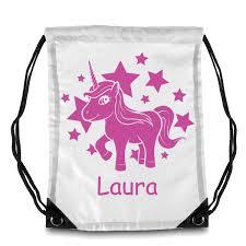 Bolsa Unicornio Personalizable Con Tu Nombre