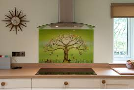 This Beautiful Fused Glass Art Green Tree Of Life In Norwich Is An Incredible Centrepiece For