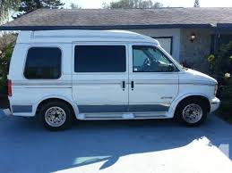 1995 Gmc Safari White Conversion Van