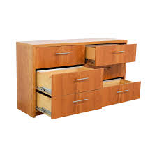 Six Drawer Storage Cabinet by 31 Off Wood Six Drawer File Cabinet Storage
