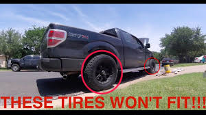 How To Fit Bigger Tires On A Truck - YouTube