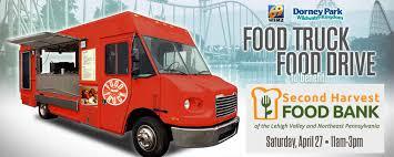 100 Truck Food Drive Second Harvest Benefit Event Dorney Park