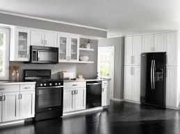 white kitchen cabinets black appliances quicua com