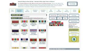 Army Medals And Ribbons Rack Builder With State mobileflipfo