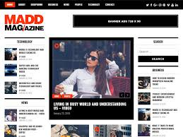 100 Best Designed Magazines Free Magazine WordPress Themes 2019 Theme Freesia