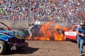 Photos: Referee Pulls Driver From Burning Pickup Truck ... Fall Brawl Truck Demolition Derby 2015 Youtube Exdemolition Derby Truck Dave_7 Flickr Burn Institute Fire Safety Expo And Firefighter Demolition Derby Editorial Stock Photo Image Of Destruction 602123 Pickup Truck Demo Big Butler Fair Family Sport Logan Duvalls Car Holley Blog Great Frederick Fairs First Van Demolition Goes Out Combine Wikipedia Union Maine 2018 Sicom Thorndale
