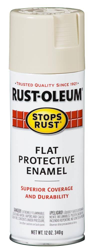 Rust Oleum Stops Rust Gloss Protective Enamel Spray Paint - 12oz