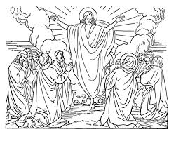 Preachers Bible Coloring Picture Page Educations