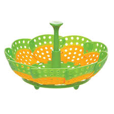 Progressive Over The Sink Colander by Collapsible Steamer Basket Progressive International Ps 2091