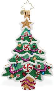 Christopher Radko Sweet Tooth Tree Collectible Christmas Ornament