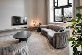 casa padrino luxus samt grau 250 x 101 x h 74 cm elegantes wohnzimmer sofa luxus möbel