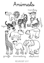 English Animals Worksheets ThAt´S EnGLisH Animal