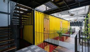 100 Recycled Container Housing Welcome To Vietnams First Container Hotel Living Circular
