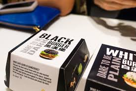 That Food Cray Mcdonalds Black White Burger 1