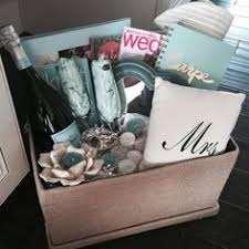 Great Idea For A Gift Fill Goodie Basket With Some Wedding Themed Gifts
