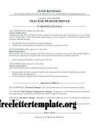 Free Obtain Pattern Template Cdl Driver Resume Samples Truck Goal Class B Examples