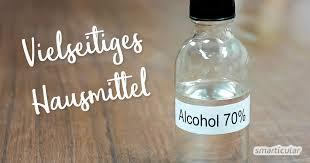 schimmel entfernen mit hausmitteln wie alkohol essig h2o2