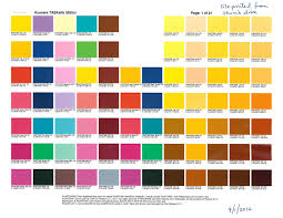 And The Kyocera Printer Has A Color Chart That Is Actually Matched To Pantone Colors Enter Image Description Here