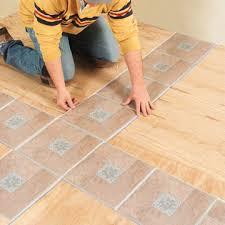 decor of installing vinyl tile installing self stick vinyl tile