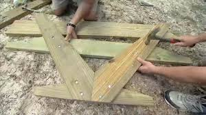building a picnic table for your yard today u0027s homeowner