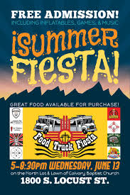 100 Food Truck Fiest Las Cruces A Calvary Baptist Church Classic Rock