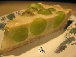 dessert aux raisins frais libellule et ses spatules tarte aux raisins frais