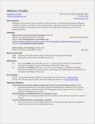 Sample Resume For Msc Information Technology Freshers Inspirationa Fresher Objective Examples