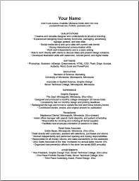 What Are Some Examples Of Poor Resume Design Quora