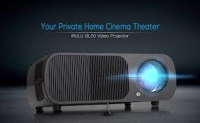 irulu bl20 mini projector led projector support
