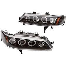 Depo Auto Lamps Catalog Pdf by Amazon Com Spyder Auto Pro Yd Ha94 Am Smc Honda Accord Smoke Halo
