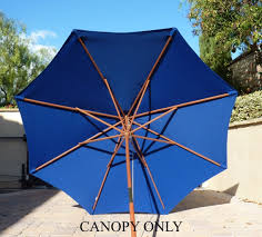 Patio Umbrella Replacement Canopy 8 Ribs by Amazon Com 9ft Umbrella Replacement Canopy 8 Ribs In Royal Blue