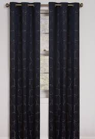 Jcpenney Thermal Blackout Curtains by Decor Black Penneys Curtains With Curtain Rods And Ikea Side