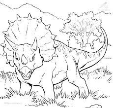 Monster Dinosaur Coloring Pages