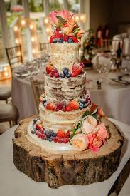 Wedding Cake Cakes Rustic Beautiful Blue To In Ideas