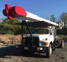1996 Ford F800 Bucket Truck For Sale