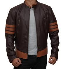 brown leather jackets for men and women