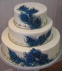 Delicious Peacock Wedding Cake Toppers Delicious Peacock Wedding