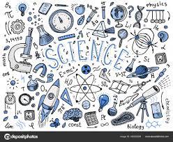 Vector Conjunto Física Química Ciencia Teoría Vinculación Fórmula