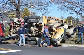 Overturned Cement Mixer Shuts Down Route 15 For Hours - Sparta NJ ... Cement Truck Stock Photos Images Alamy Truck Crash On I64 At Lee Hall Kills The Driver Overturns In Bolobedu Letaba Herald Accident Gabriola British Columbia Canada Flips Over Roadway Vs Motorcycle Crash Howe St Pond Methuen Rolls Highway 224 Driver Taken Away By Tampines Cementmixer Charged Singapore Somehow No One Was Seriously Injured In This Wreck With A 5 Freeway Fully Reopens Gndale After Overturns Ktla 2nd Wreck One Week For Cement Company Young News
