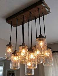 How To Make A Mason Jar Chandelier Lights Made From Jars