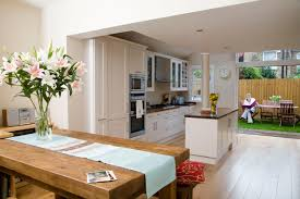 Decoration Kitchen Dining Room Design Layout Photo On Fancy Home Designing Styles About Furniture For