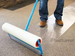 Carpet Protector Film On Optional Applicator Rolling Protection