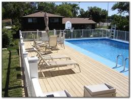 Above Ground Pool Deck Images by Cheap Above Ground Pool Deck Ideas Decks Home Decorating Ideas