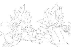 Goku Vegeta Gohan Goten Super Saiya Color Solitaire 10411791