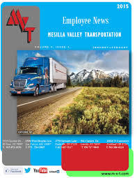 Mvt Newsletter Jan. Feb. By MVT Services - Issuu Mesilla Valley Transportation Cdl Truck Driving Jobs Abilene Motor Express Truckers Review Pay Home Time Equipment Nm State Football On Twitter Thanks To Trucking For Mvt Mobile Apps Reviews Complaints Youtube Solutions Give Away 42000 In Fuel Efficiency Consulting And Testing Innometric Mpg Us Xpress Proves Reability Of The Tc10 Owner Perfect