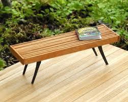 Hand Built Outdoor Furniture In Miniature