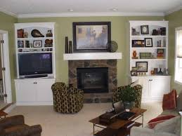 fireplace shelving designs ideas with fireplace mantel and wooden