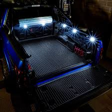 100 Car With Truck Bed Lumen TRBPODBLK 8Pod LED Lights