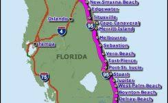 Map Of Florida Beaches Picture Jacksonville Beach On A Us D48598a7b0be04b8a2a01e9b4515d492 434 X 663 Pixels